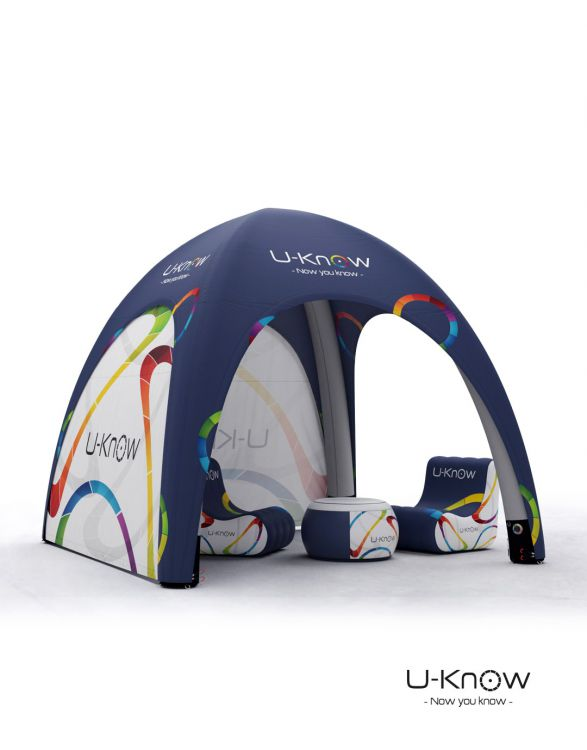 U-TENT 300  TENTE GONFLABLE 3x3m